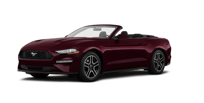 2018 Ford Mustang Convertible EcoBoost | Photo 6 | Royal Crimson Metallic Tinted Clearcoat