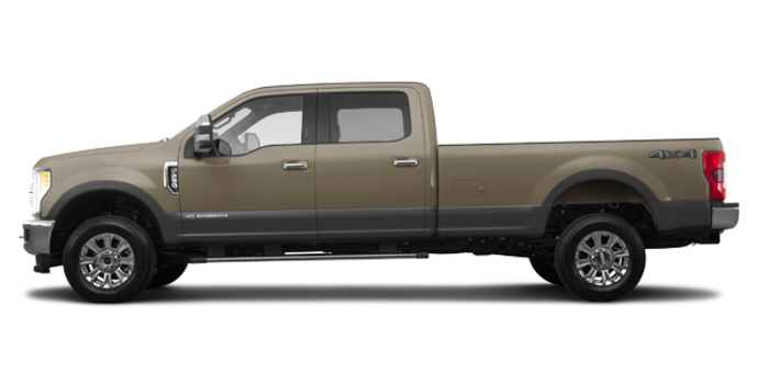2018 Ford Super Duty F-250 KING RANCH   Photo 4   White Gold/Stone Grey