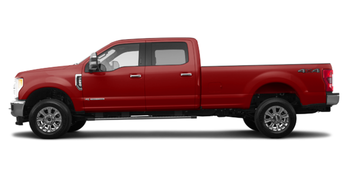 2018 Ford Super Duty F-250 KING RANCH   Photo 4   Ruby Red