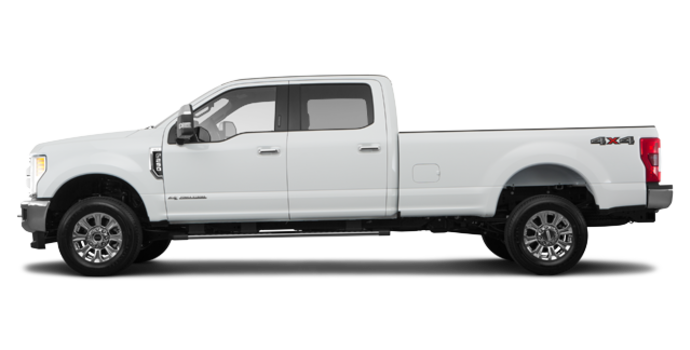 2018 Ford Super Duty F-250 KING RANCH   Photo 4   Oxford White