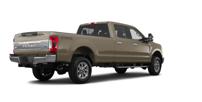 2018 Ford Super Duty F-250 KING RANCH   Photo 5   White Gold