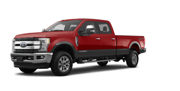 2018 Ford Super Duty F-250 KING RANCH   Photo 6   Ruby Red/Stone Grey