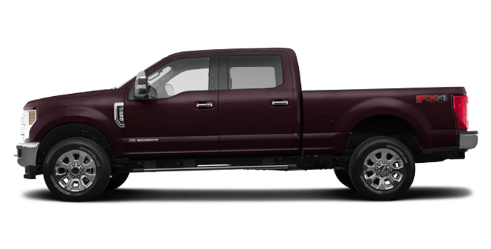 2018 Ford Super Duty F-250 LARIAT | Photo 4 | Magma Red