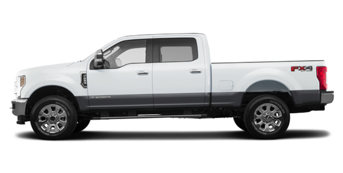 2018 Ford Super Duty F-250 LARIAT | Photo 4 | Oxford White/Magnetic