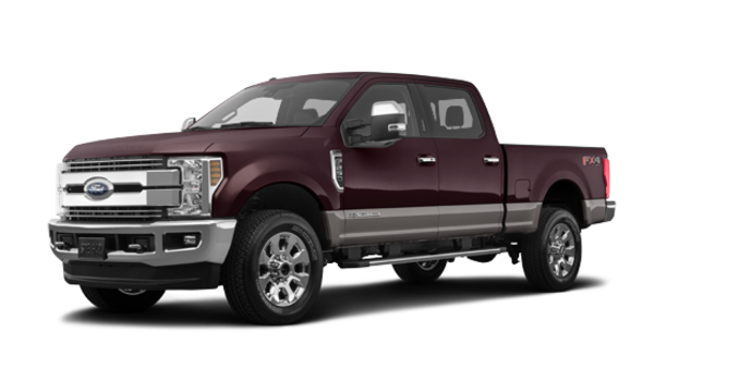 2018 Ford Super Duty F-250 LARIAT | Photo 6 | Magma Red/Stone Grey