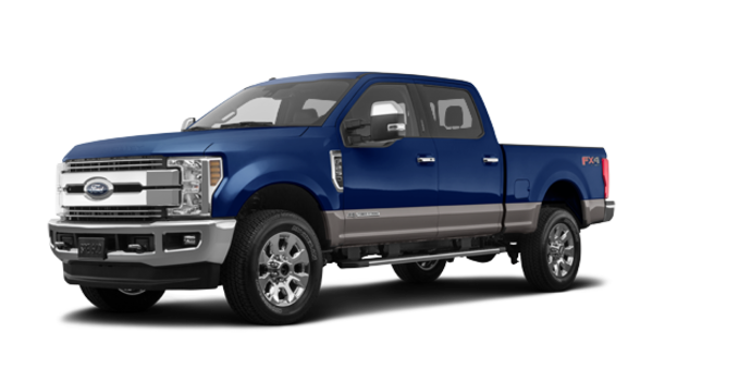 2018 Ford Super Duty F-250 LARIAT | Photo 6 | Blue Jeans /Stone Grey