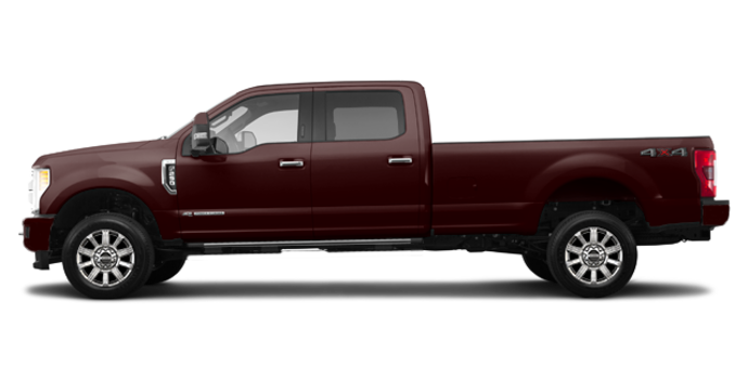 2018 Ford Super Duty F-250 LIMITED | Photo 4 | Magma Red