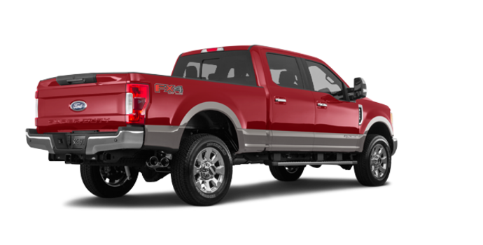 2018 Ford Super Duty F-350 LARIAT | Photo 5 | Ruby Red/Stone Grey