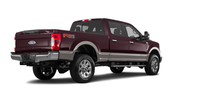 2018 Ford Super Duty F-350 LARIAT | Photo 5 | Magma Red/Stone Grey