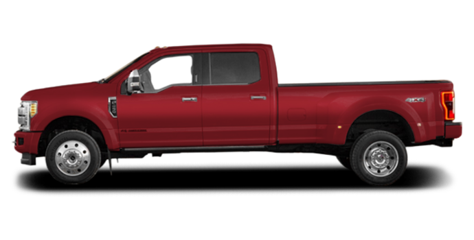 2018 Ford Super Duty F-450 PLATINUM | Photo 4 | Ruby Red
