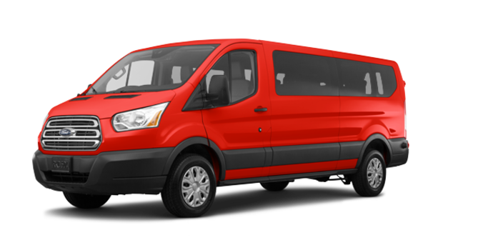 2018 Ford Transit WAGON XLT | Photo 6 | Race Red