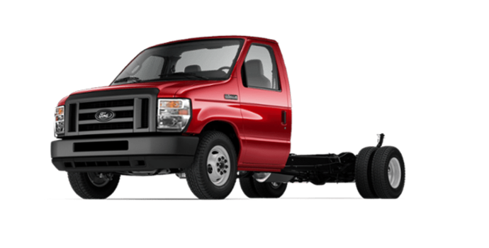 2018 Ford E-Series Cutaway 450 | Photo 4 | Race Red