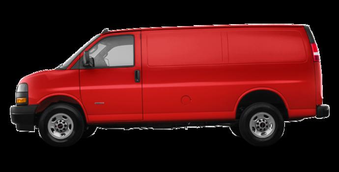 2018 GMC Savana 2500 CARGO   Photo 4   Cardinal Red