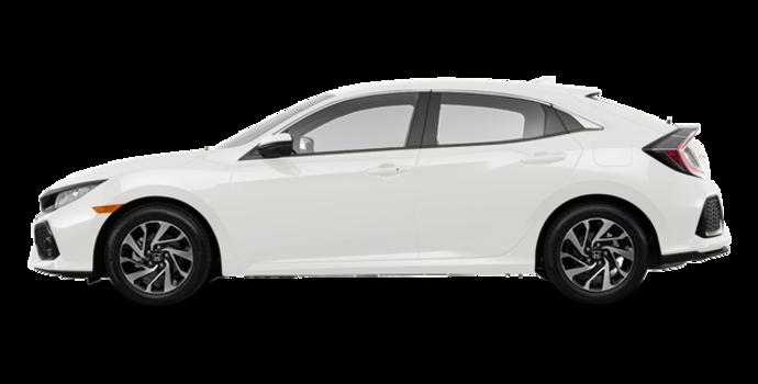 2018 Honda Civic hatchback LX HONDA SENSING | Photo 4 | White Orchid Pearl