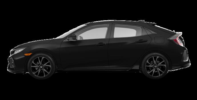 2018 Honda Civic hatchback SPORT HONDA SENSING | Photo 4 | Crystal Black Pearl