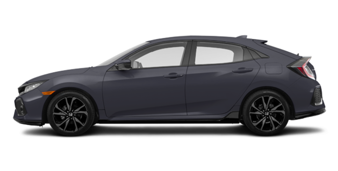 2018 Honda Civic hatchback SPORT HONDA SENSING | Photo 4 | Polished Metal Metallic