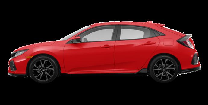 2018 Honda Civic hatchback SPORT HONDA SENSING | Photo 4 | Rallye Red
