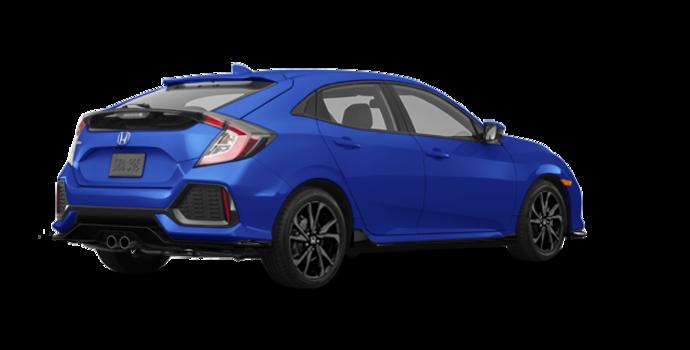 2018 Honda Civic hatchback SPORT HONDA SENSING | Photo 5 | Aegean Blue Metallic