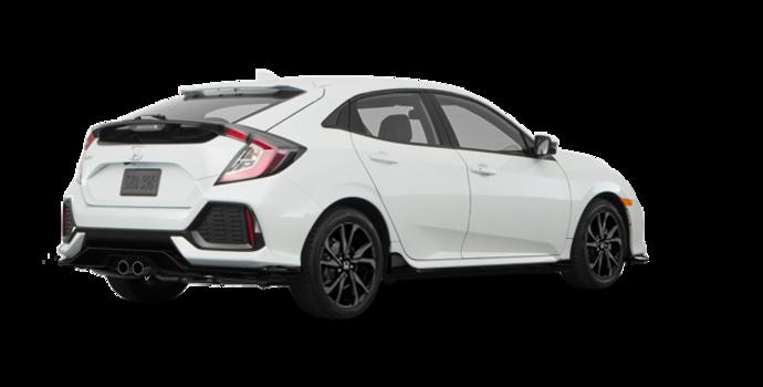 2018 Honda Civic hatchback SPORT HONDA SENSING | Photo 5 | White Orchid Pearl