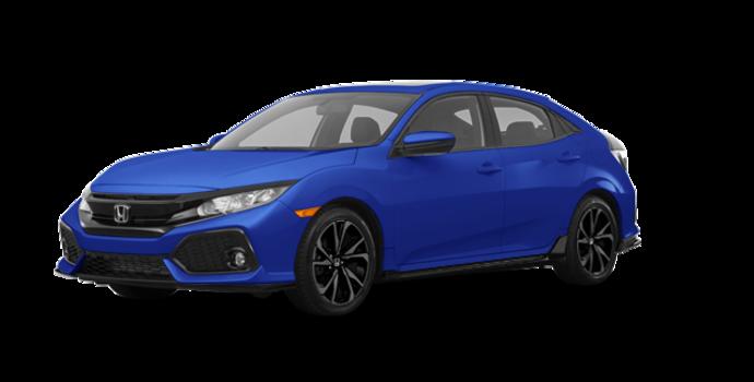 2018 Honda Civic hatchback SPORT HONDA SENSING | Photo 6 | Aegean Blue Metallic