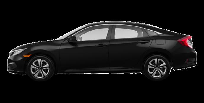 2018 Honda Civic Sedan LX | Photo 4 | Crystal Black Pearl