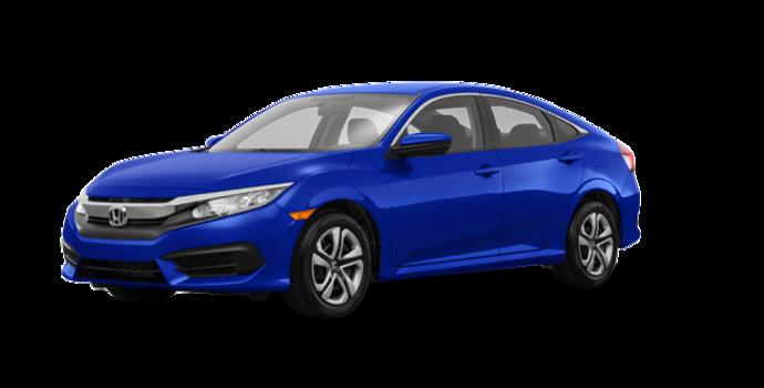 2018 Honda Civic Sedan LX | Photo 6 | Aegean Blue Metallic