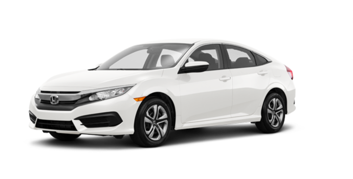 2018 Honda Civic Sedan LX | Photo 6 | Taffeta White