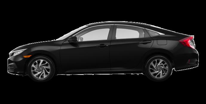 2018 Honda Civic Sedan SE | Photo 4 | Crystal Black Pearl