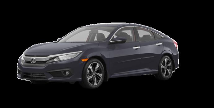 2018 Honda Civic Sedan TOURING   Photo 6   Modern Steel Metallic