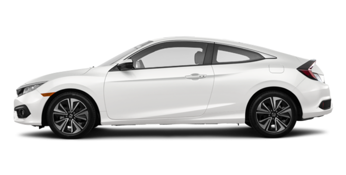2018 Honda Civic Coupe EX-T HONDA SENSING   Photo 4   White Orchid Pearl