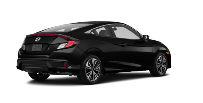 2018 Honda Civic Coupe EX-T HONDA SENSING   Photo 5   Crystal Black Pearl