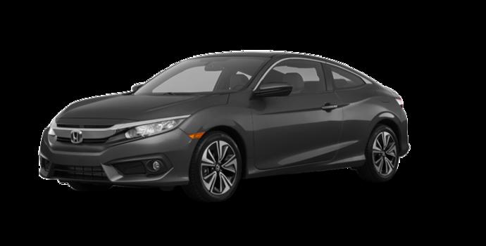 2018 Honda Civic Coupe EX-T HONDA SENSING   Photo 6   Modern Steel Metallic