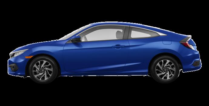 2018 Honda Civic Coupe LX-HONDA SENSING | Photo 4 | Aegean Blue Metallic