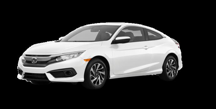 2018 Honda Civic Coupe LX-HONDA SENSING | Photo 6 | Taffeta White