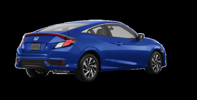 2018 Honda Civic Coupe LX   Photo 5   Aegean Blue Metallic