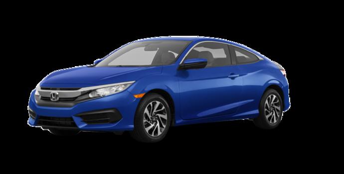 2018 Honda Civic Coupe LX   Photo 6   Aegean Blue Metallic