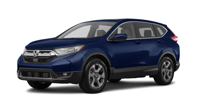 2018 Honda CR-V EX-L   Photo 6   Obsidian Blue Pearl