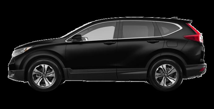 2018 Honda CR-V LX-2WD   Photo 4   Crystal Black Pearl