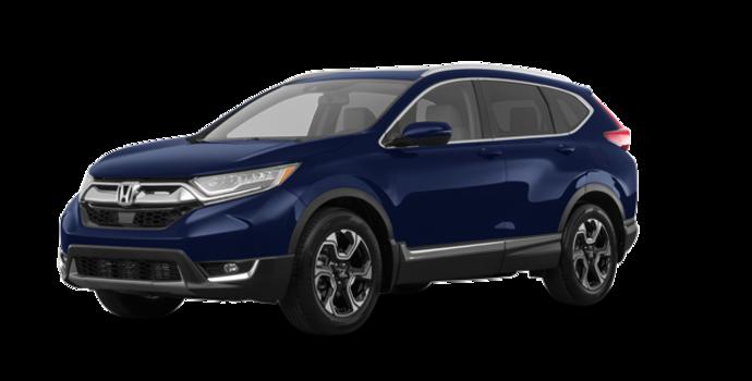 2018 Honda CR-V TOURING   Photo 6   Obsidian Blue Pearl