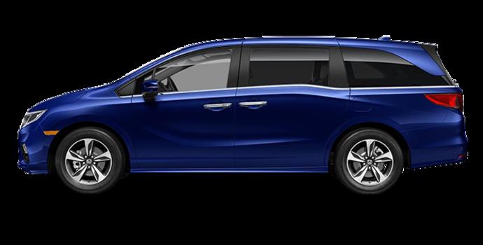 2018 Honda Odyssey EX-L RES | Photo 4 | Obsidian Blue Pearl
