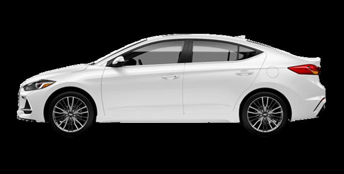 2018 Hyundai Elantra Sport TECH | Photo 4 | Polar White