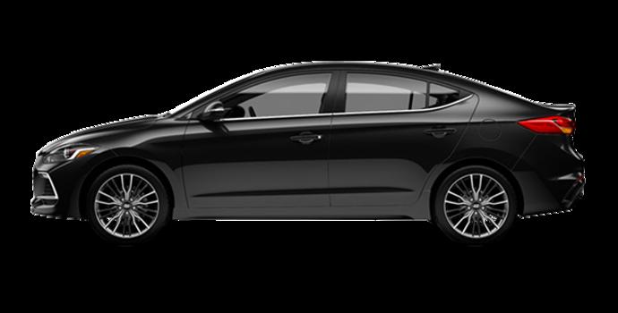 2018 Hyundai Elantra Sport TECH | Photo 4 | Space Black