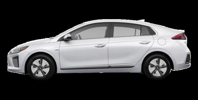 2018 Hyundai Ioniq Hybrid BLUE   Photo 4   Polar White