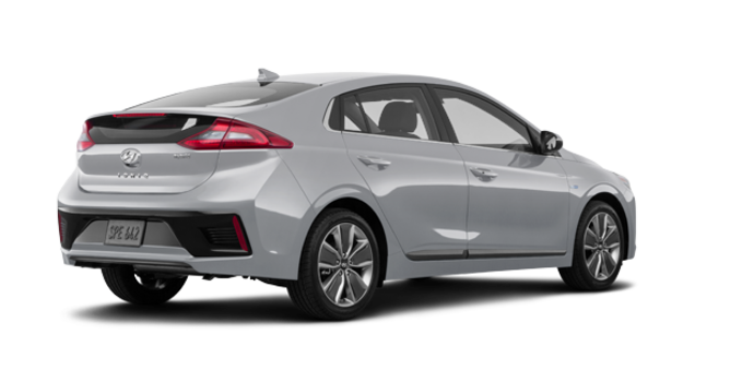 2018 Hyundai Ioniq Hybrid LIMITED/TECH | Photo 5 | Platinum Silver