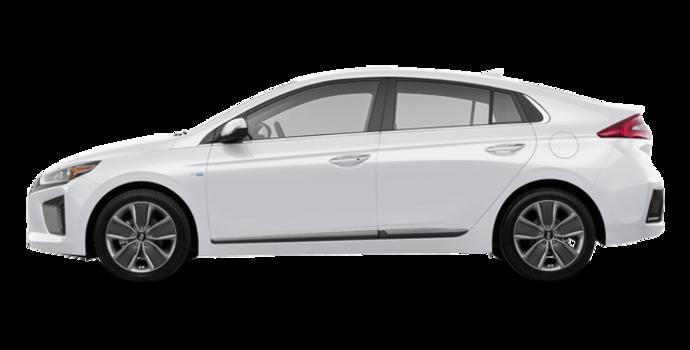 2018 Hyundai Ioniq Hybrid LIMITED | Photo 4 | Polar White
