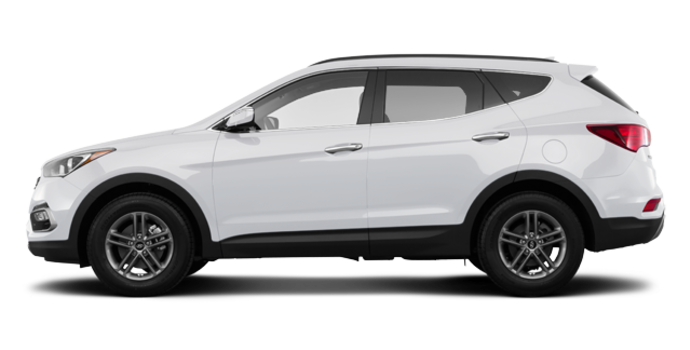 2018 Hyundai Santa Fe Sport 2.0T SE   Photo 4   Frost White Pearl