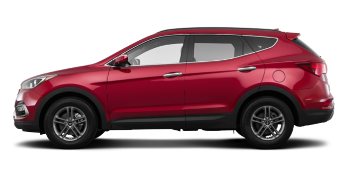 2018 Hyundai Santa Fe Sport 2.4 L SE | Photo 4 | Serrano Red