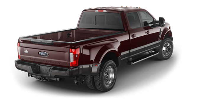 2018 Ford Super Duty F-450 KING RANCH | Photo 5 | Magma Red/Stone Grey