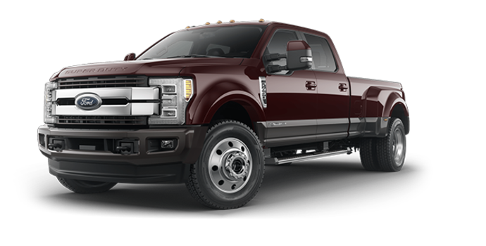 2018 Ford Super Duty F-450 KING RANCH | Photo 6 | Magma Red/Stone Grey