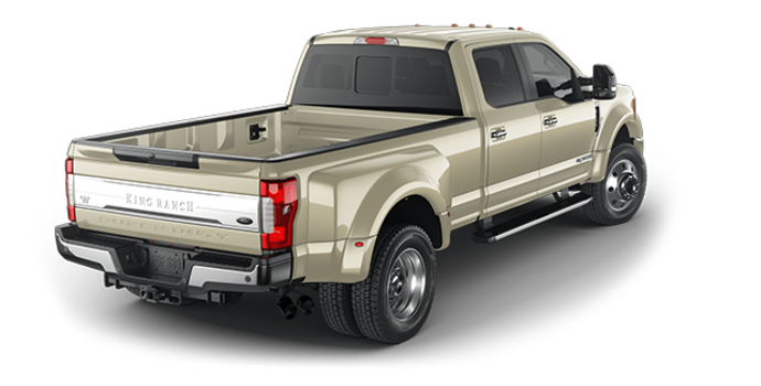 2018 Ford Super Duty F-450 KING RANCH | Photo 5 | White Gold
